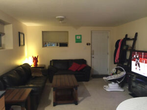 2 Bedroom 1 Bath Basement Suit