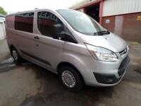 Ford Transit Custom 290 Trend Lr Dcb Panel Van 2.2 Manual Diesel
