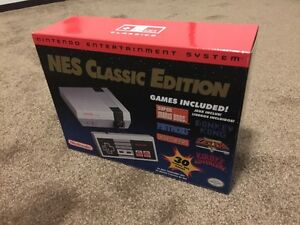 NIntendo NES Classic Edition *NEW SEALED MINT* In Westlock