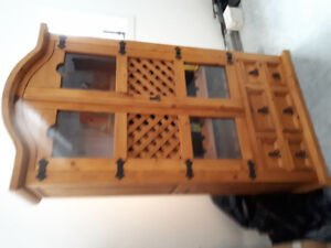 Wine cabinet   from Pitch Peine Wood