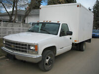1992 Chev 3500 12ft. Cube Van  REDUCED - $3,000.00