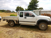 2004 HOLDEN RODEO SPACE CAB 4 X 4 FLAT TRAY Ross Northern Midlands Preview