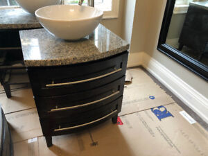 """2 Vanities 24"""" and 36"""" Wide - Almost New Without Box"""