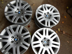 4 BMW  stock 18 inch ALLOY rims for  MODELS 6 and 7 series