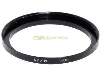 Anello adattatore step up 49/Series VII x filtri S7 su obiettivi diam. 49