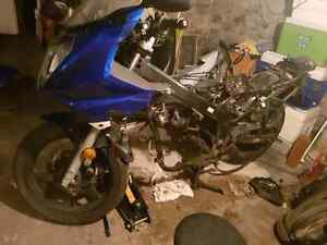 2008 Suzuki GS500F parts bike