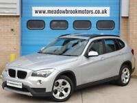 BMW X1 2.0TD !! PAN ROOF+NAV+AUTO+F/S/H !! (141bhp) Auto 2012 sDrive SE,