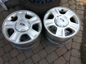 4 FORD rims wheels Escape 5 on 4.50 16 inch 7`` wide 45 offset