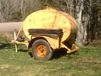 Trailer Fuel/Oil Tank