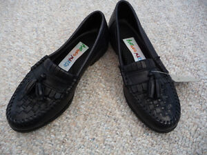 Brand New Black Dress Shoes With Tassels - Child's Size 11 or 12 London Ontario image 2