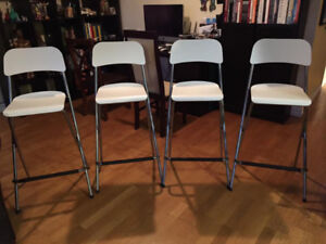 4 tabourets/bar stools Franklin (ikea) très bonne condition