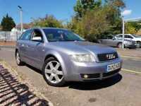 Audi A4 AVANT TDI SE (130BHP) (silver) 2003