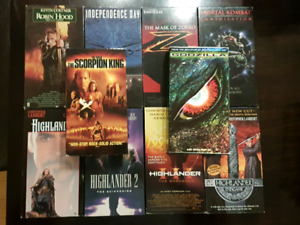 VHS action lot