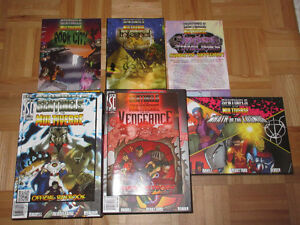Sentinels of the multiverse card game + 18 expansions
