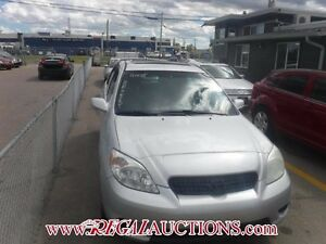 2005 TOYOTA MATRIX XRS HATCHBACK XRS