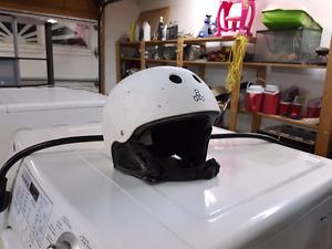 Snowboard helmet,