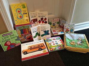 INFANT TODDLER CHILD BOOK LOT