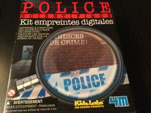 Ensemble empreintes digitales pour enfants / Kid fingerprint kit