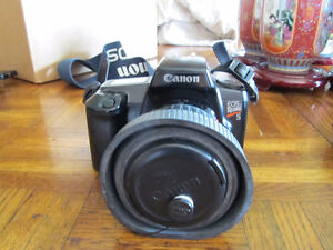 old school 35mm camera and lenses with case NEW LOW PRICE