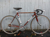 54cm Raleigh Grand prix vintage Brooks Ambrosio mise au point