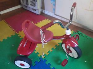 Radio Flyer Tricycle w/ back storage