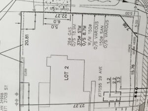 BUILD YOUR DREAM HOME (LOT B - 27061 - 29 AVE)