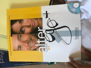FRENCH ALTER A1 EGO textbook (with CD-ROM)