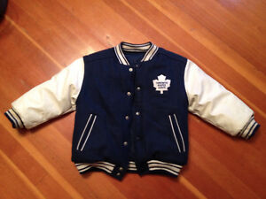 Maple Leafs reversible jacket
