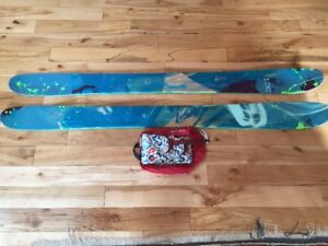 Downhill / Touring Skis ( and skins) for sale