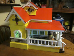 Handcrafted Dollhouse