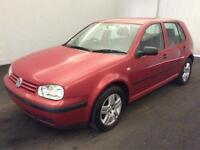 VW GOLF 1.6 SE (CLEARANCE PRICED NOW) LONG MOT..HISTORY..DRIVES GREAT