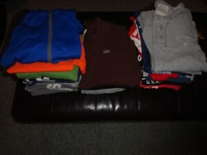 Boys teen youth clothing lot small , medium, large
