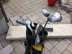 Men's left hand golf clubs