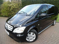 2012/62 Mercedes-Benz Vito 122 3.0 CDi LWB AUTOMATIC 6 SEAT DUALINER