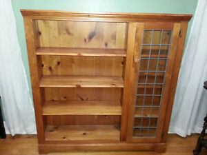 Solid pine book shelf from Woodcraft of Toronto