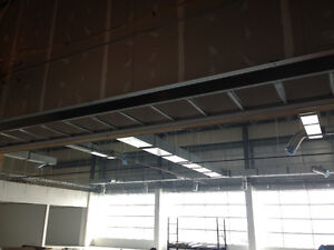 Drywall, Steel Framing, Tbar Ceiling Installation And More!