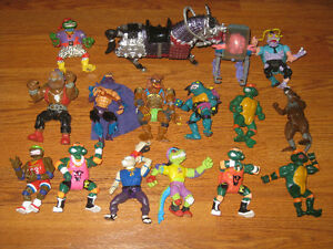 TMNT Action Figures Playmates Lot Original