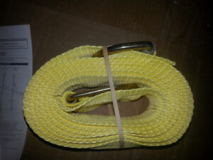 Ten foot strap 420lbs to pull or tie down or safety