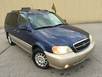 2004 KIA  SEDONA  AIR CLIMATISE ** FULL LOAD ** $1190