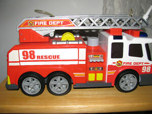FIRE DEPT. 98 RESCUE TRUCK BY DICKIE TOYS