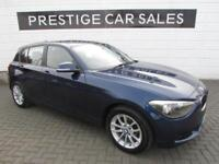 2014 BMW 1 Series 2.0 116d SE Sports Hatch (s/s) 5dr Diesel blue Manual