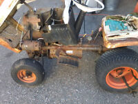 12 hp Bolens Tube frame tractor(Parts) & Accessories