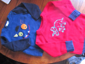 2 knit sweaters exc condition plus extra sweater REDUCED