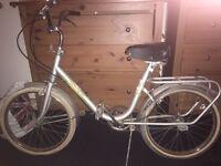 Harrier folding bike