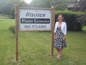 E's #notes piano lessons - just north of Cobourg Peterborough Peterborough Area image 1