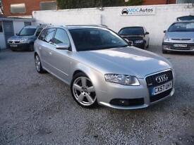 2007 (57) Audi A4 S-Line Avant 1.8T Multitronic Automatic, 5DR AUTO EW CD RCL AC