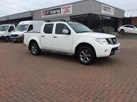 September 2012 Nissan navara platinum pick up £12995 or £8.48 a day J&FT&V