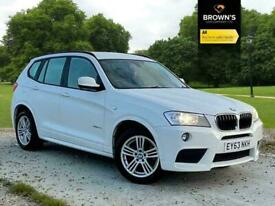 image for 2013 BMW X3 2.0 20d M Sport xDrive 5dr SUV Diesel Manual