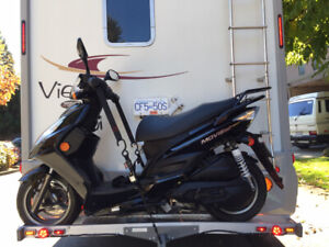 Scooter & Rack package for motorhome