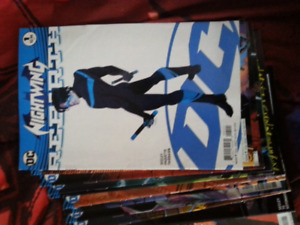Nightwing comics 0-12